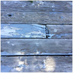 Deck Maintenance needed