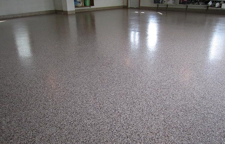 Silver Gray  Part Epoxy Concrete And Garage Floor Paint