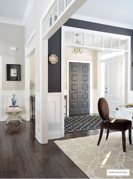 Multiple colors on your walls is another 2021 paint color trend.